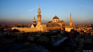 Die Umayyaden-Moschee von Damaskus. Foto: Issam Hajjar