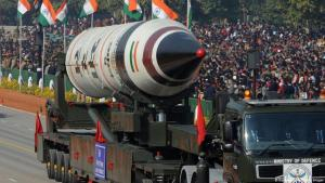 Atomwaffenfähige Rakete in Indien (Foto: Getty Images)