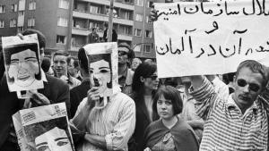 Anti-Schah-Proteste in Berlin 1967; Foto: picture-alliance/AP
