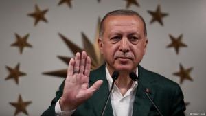 Der türkische Präsident Recep Tayyip Erdoğan; Foto: DHA/C. Erok