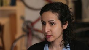 Die afghanische Filmemacherin Mariam Ghani; Foto: YouTube