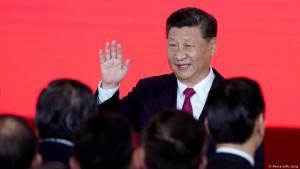 Der chinesische Staatspräsident Xi Jinping während der Eröffnung der Zhuhai-Macau-Brücke in Hong Kong am 23. Oktober 2018; Foto: Reuters/Aly Song