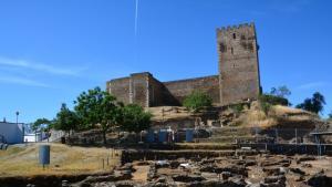 Ausgrabungen in der portugiesischen Kleinstadt Mértola; Foto: Marta Vidal