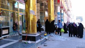 Seit Trumps Iran-Embargo kommen nur noch weniger iranische Pilger in die irakische Stadt Najaf; Foto: DW/Judit Neurink