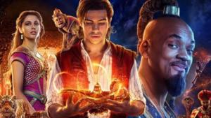 Aladdin-Neuverfilmung mit Will Smith, Mena Massoud, Naomi Scott, Marwan Kenzari, Nasim Pedrad; FilmTrailer; Quelle: YouTube