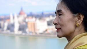 Aung San Suu Kyi in Budapest; Foto: Getty Images/A. Kisbenedek