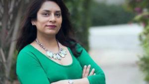 Die pakistanische Schriftstellerin Bina Shah; Foto: © Wahaj Alley/Goethe Institut
