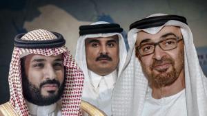 """Screenshot / ARTE-Doku: """"Wüste Prinzenspiele – Der neue Golfkrieg"""". Foto: ARTE"""