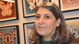 Die deutsch-iranische Künstlerin Parastou Forouhar; Foto: DW/B.Keshmiripour