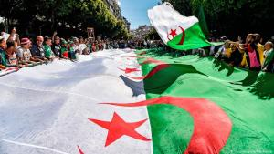 Proteste gegen eine fünfte Amtszeit von Abdelaziz Bouteflika in Algier; Foto: Getty Images/AFP