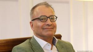 Der iranische Schriftsteller Amir Hassan Cheheltan. Foto: Wolfgang Kumm/dpa