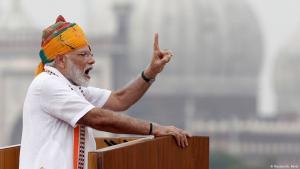 Indiens Ministerpräsident Narendra Modi; Foto: Reuters/A. Abidi