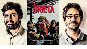 """Bild-Cover von Carlos Spottorno und Guillermo Abrils """"La Grieta"""", verlegt von Astiberri Ediciones/Guillermo Abril"""