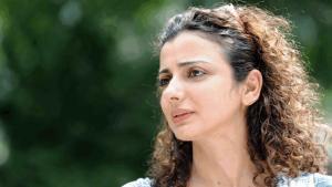 Die palästinensische Schriftstellerin Ibtisam Azem; Foto: privat