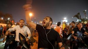 Anti-Regierungsproteste auf dem Tahrir-Platz in Kairo am 21. September 2019; Foto: Reuters