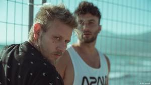 Der türkische Rapper Şanışer (l.) hat das Musikprojekt initiiert; Foto: leo xandre