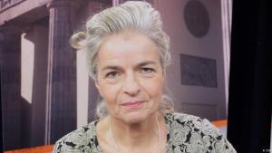 Die Journalistin und Publizistin Charlotte Wiedemann; Foto: DW