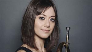 Die britisch-bahrainische Trompeterin Yazz Ahmed; Foto: yazzahmed.com