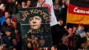 Rechtsextremistische Pegida-Demponstration am 6. Februar 2016 in Dresden; Foto: Reuters/H. Hanschke