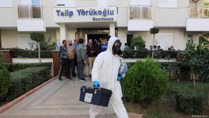 Vermutlicher Selbstmord einer Familie in Antalya am 9.11.2019; Foto: DHA/A.Cinar