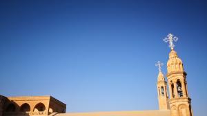 Das im Jahr 397 gegründete Kloster Mor Gabriel ist heute Sitz des Metropoliten von Tur Abdin; Foto: Marian Brehmer