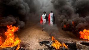 Anti-Regierungsproteste und Ausschreitungen im Irak; Foto: Getty Images/AFP