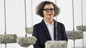 Die palästinensisch-britische Künstlerin Mona Hatoum; Foto: Imago Images/ZUMA/S. Chung