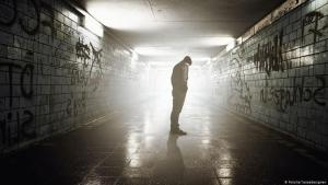 Symbolbild Einsamkeit/Depression/Suizid; Foto: Fotolia/ lassedesignen