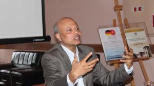 Der muslimische Umweltexperte Tarik Quadir aus Bangladesch; Foto: medit.2.fsm.edu.tr; Fatih Sultan Mehmet Vakif Universitesi