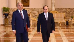 Libyens General Khalifa Haftar (l.) zu Besuch bei Ägyptens Staatschef Abdel Fattah al-Sisi in Kairo; Foto: Reuters