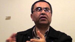 Der Iran-Experte und Journalist Reza Alijani; Quelle: YouTube