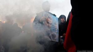 Trauerzeremonie für den getöteten iranischen General Soleimani in Teheran am 6. Januar 2020; Foto: Reuters