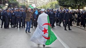 Proteste in Algier am 12. Dezember 2019; Foto: AFP/Getty Images