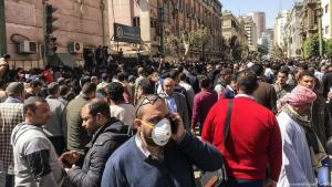 Auswirkungen des Coronavirus in Kairo, Ägypten; Foto: picture-alliance