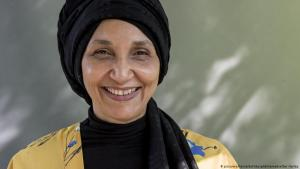 Die britisch-sudanesische Autorin Leila Aboulela; Foto: picture-alliance/EdinburghEliteMedia/Ger Harley
