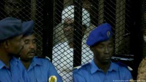 Prozess gegen Sudans Ex-Diktator Omar al-Baschir vor einem Gericht in Khartum am 14.12.2019; Foto: picture-alliance/Anadolu Agency