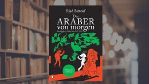 """Buchcover Riad Sattouf: """"Der Araber von morgen"""" im Penguin Verlag"""
