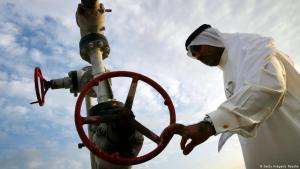 Erdgasförderung in Manama, Bahrain; Foto: AFP/Joe Raedle