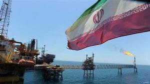 Iranische Erdölplattform im Persischen Golf; Foto: Mehr