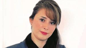 Die iranisch-kurdische Autorin und Aktivistin Ava Homa; Foto: Sam Attar