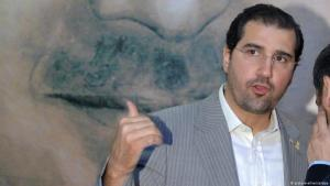 Der syrische Gschäftsmann Rami Makhlouf, ein Cousin von Baschar al-Assad; Foto: picture-alliance/abaca/Balkis Press
