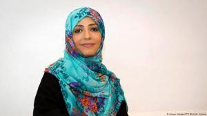 Tawakkol Abdul-Salam Karman; Foto: Imago Images/CTK Photo/K. Sulova