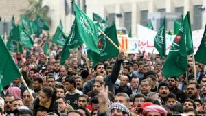 Anhänger der der Muslimbrüder in Kairo. (Awad Awad/AFP/Getty Images)