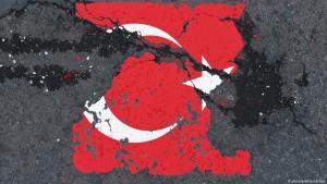 Symbolbild politische Spaltung der Türkei; Foto: picture-alliance/dpa