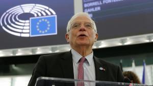 Frankreich EU/Borrell will am Iran-Atomabkommen festhalten; Foto: Reuters/V. Kessler