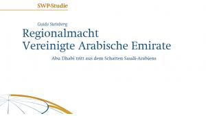 SWP-Studie Regionalmacht Vereinigte Arabische Emirate. Foto: Stiftung Wissenschaft und Politik (SWP)