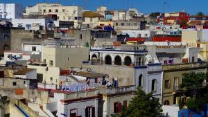 Blick auf die Kasbah von Tanger; Foto: Claudia Mende