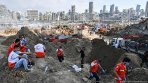 Ein Bild der Verwüstung: Beirut nach der Explosion