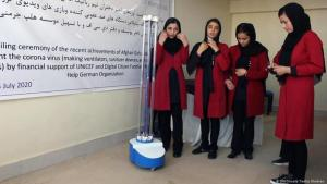 Junge Frauen in Afghanistan: Foto: DW