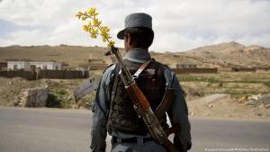 Afghanischer Soldat, DW Special zu Bundeswehr 20 Jahre Afghanistan; Foto: picture alliance/AP Photo
